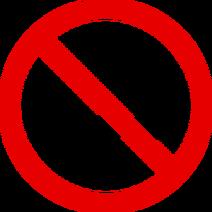1206566111376377206tribut No-Smoking Sign svg med