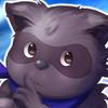 Rain Raccoon Icon