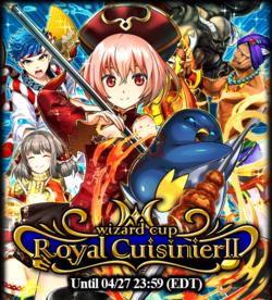 Wizard Cup Royal Cuisinier II Announcement