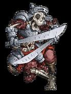 Skeleton Warrior (Fire) transparent