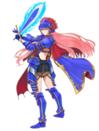 Kutlea (Blue Knight of the Winds) transparent