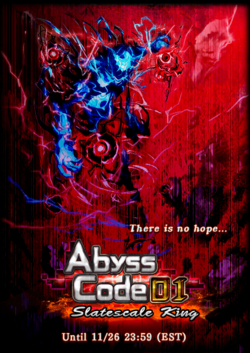 Abyss Code 01 Slatescale King Announcement