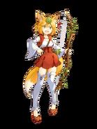 Artemis (The Priestess) transparent