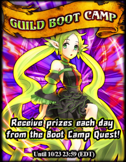 Guild Bootcamp! October 2015 Announcement