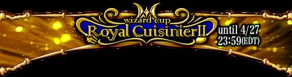 Wizard Cup Royal Cuisinier II Banner