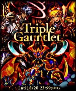 Triple Gauntlet August 2015 Announcement