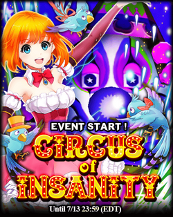 Circus of Insanity (June 2015) Announcement