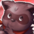 Fire Raccoon Icon