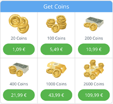 Coins Packages