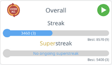 Streaks Screen Item