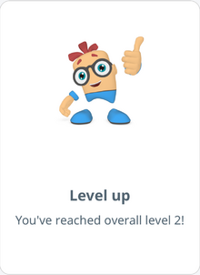 LevelUp Congratulatory Animation