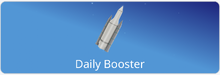 Daily Booster Home Screen Item