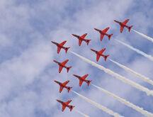 RAF Red Arrows - Rhyl Air Show