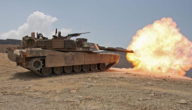 File:Firing M1A1 tank in Djibouti.jpg