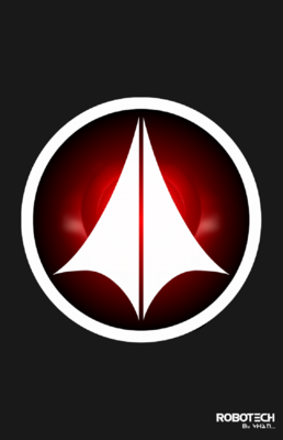 Macrossrobotech logo by vh4n