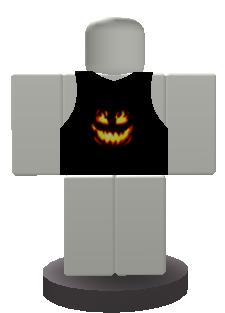 Halloween Vest Button