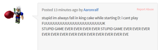 Rage comments