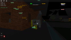Smoker tank -3 screen shot b4 i died