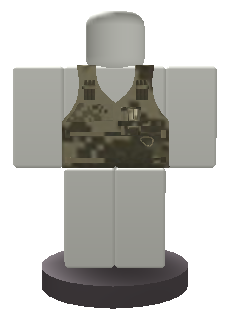 Officer Vest Button