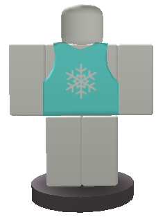 Christmas Vest Button
