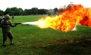 Flame thrower1