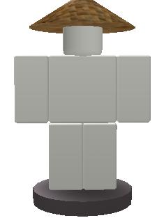 Straw Hat Button