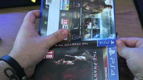 Metal Gear Solid V Unboxing