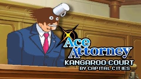 Ace Attorney - Kangaroo Court