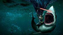 Batman-with-a-laser-sword-vs-a-shark-700x393