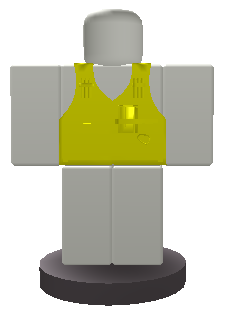 Fireproof Vest Button