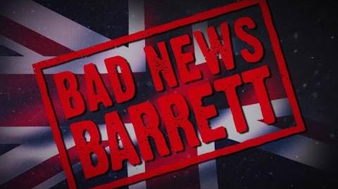 Bad News Barrett Entrance Video