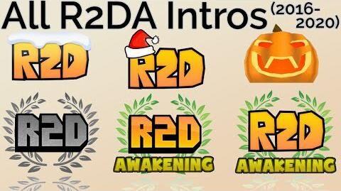 All R2DA Intros (2016-2020)