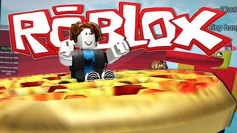 Roblox DRIVING A GIANT PIZZA?!
