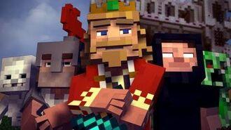 """Fallen Kingdom"" - A Minecraft Parody of Coldplay's Viva la Vida (Music Video)"