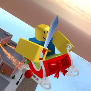 Rocket Sleigh