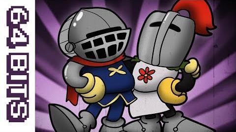 64 Bits - Cupsouls (Dark Souls animated like Cuphead)-0