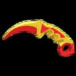 Karambit - Red Toy