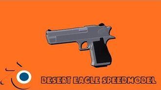 Desert Eagle - Blender Speed Modeling