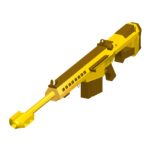 Barret 50 Cal - Golden