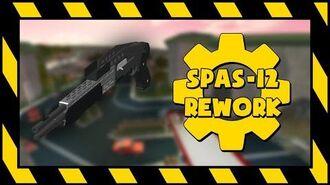 UNOFFICIAL R2DA - Spas-12 Rework Animations