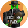 Halloween brute costume icon