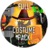 Full halloween costume pack icon