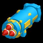 Tri-Blaster - Blue Toy