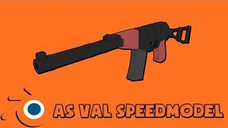 AS VAL - Blender Speed Modeling