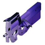 P90 batwing icon