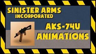 UNOFFICIAL R2DA AKS-74U Animations