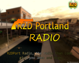 R2DPort Radio Logo