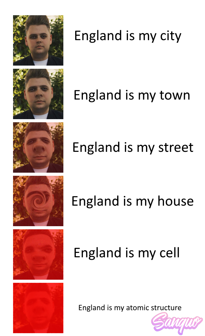 England is my