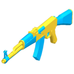 AK47 - Blue Toy
