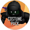 Halloween leaper costume icon